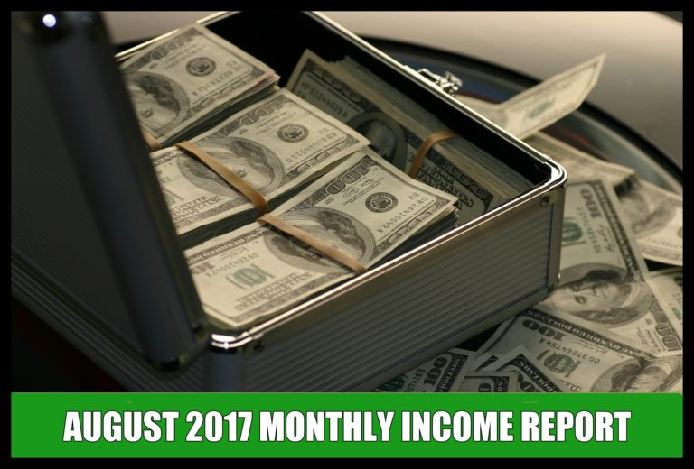Uber & Lyft Income Reports - August