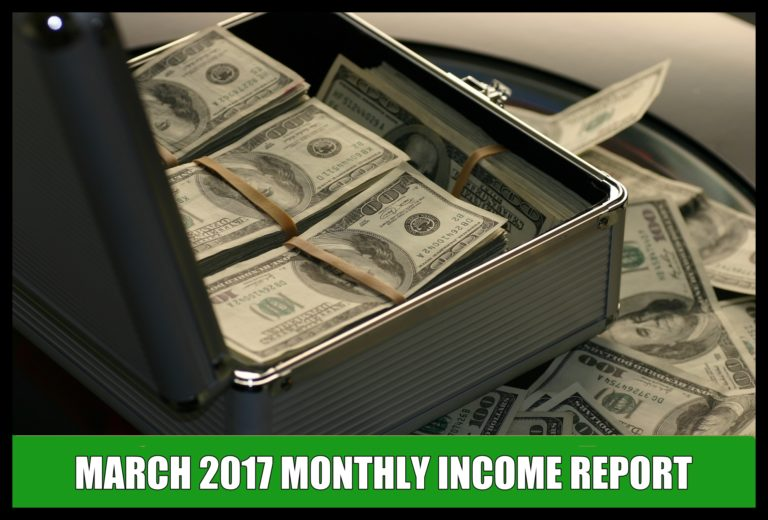 Uber & Lyft Income Reports - March